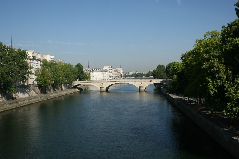 View of the Seine from Pont Marie