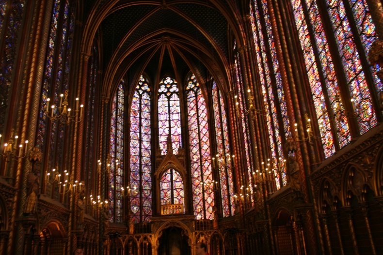 Entering Sainte-Chapelle