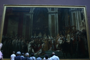 The Coronation of Napoleon by Jacques Louis David