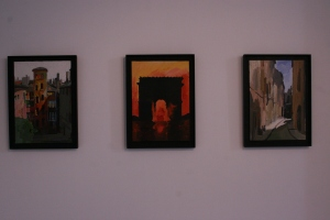 Gérard Gasiorowski's work on display