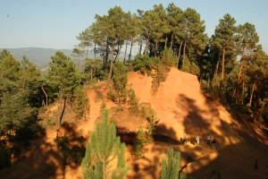 The ochre quarry of Roussillon
